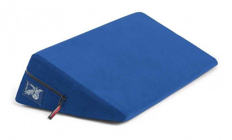 Синяя малая подушка для любви Liberator Retail Wedge