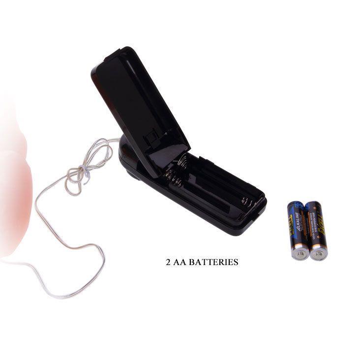 Загнутый вибратор телесного цвета - 23,6 см.