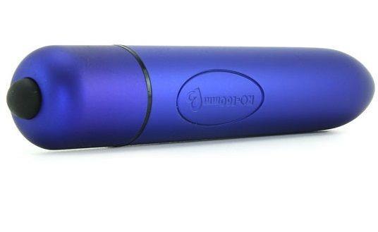 Синий вибратор RO-160 (16 см)
