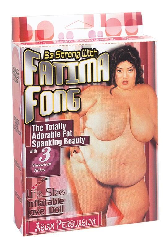 Полненькая секс-кукла Fatima Fong