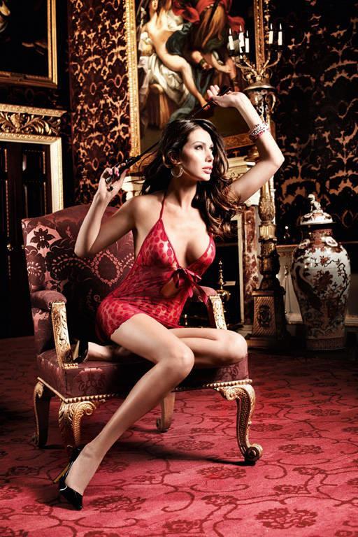Бордовое платьице в горошек и со шнуровкой спереди Have Fun Princess