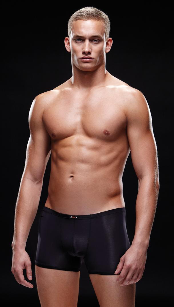 Черные мужские боксеры
