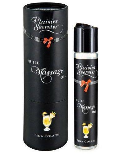 Массажное масло с ароматом пина колады Huile de Massage Gourmande Pina Colada (59 мл)