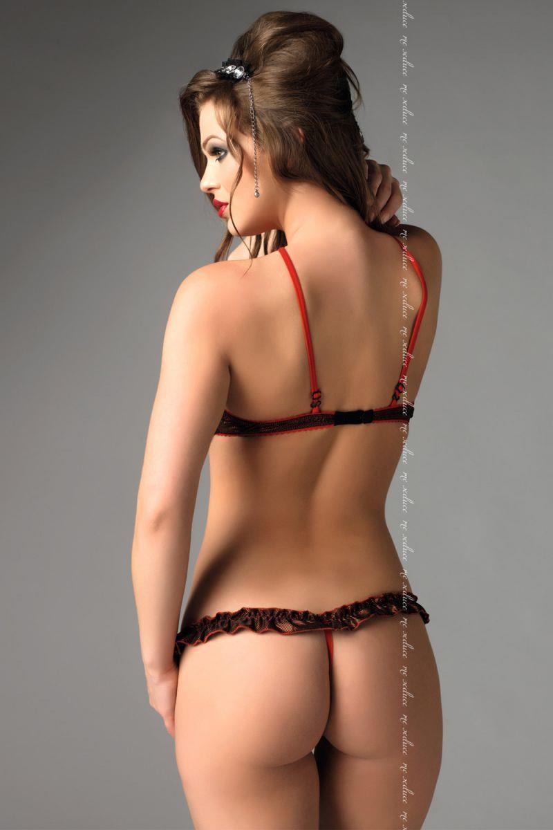 Откровенный комплект нижнего белья Rita с открытым лифом