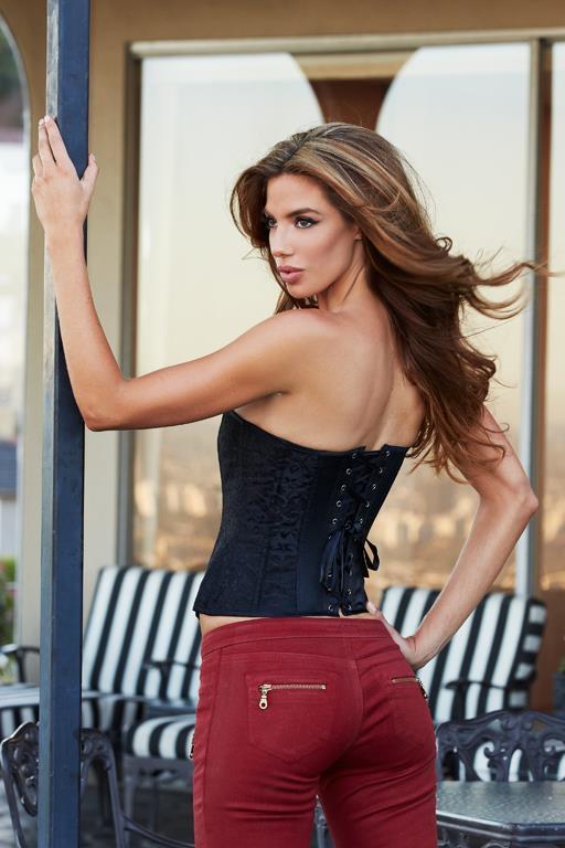 Классический корсет Essential Satin Lace Corset