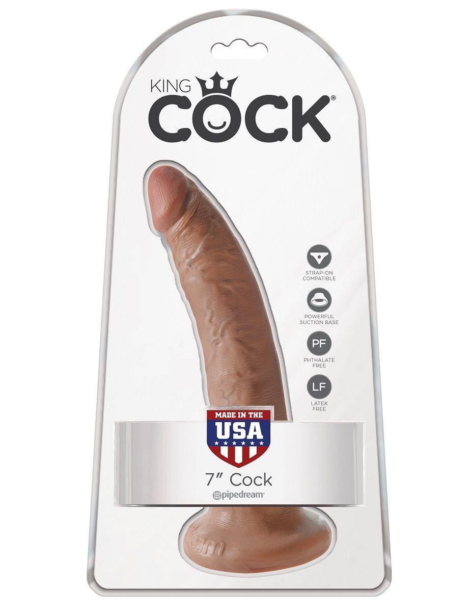 Фаллоимитатор-мулат King Cock - 7