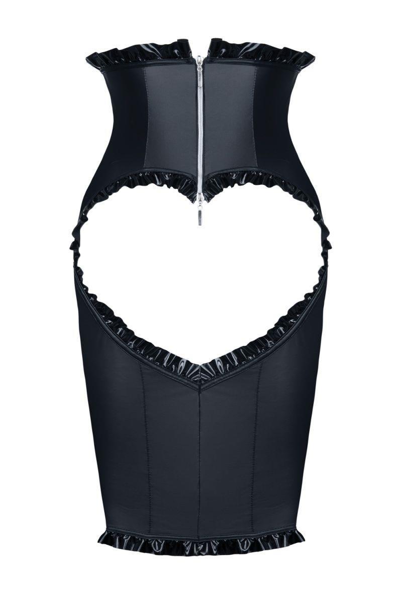 Платье Ingrid с открытой грудью и вырезом-сердцем на попе