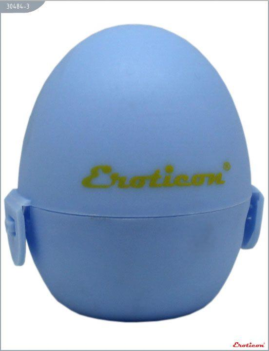 Голубой карманный мастурбатор-яйцо SURPRISE PokeMon