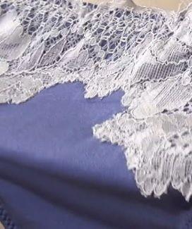Комплект белья из блестящей микрофибры