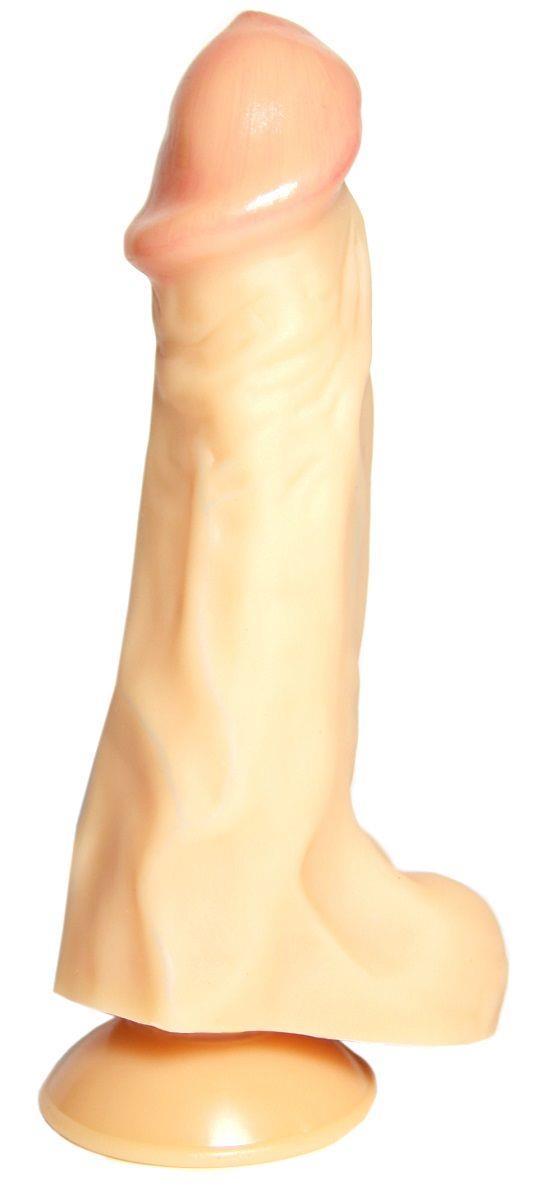 Фаллоимитатор на присоске Donald - 19,5 см.