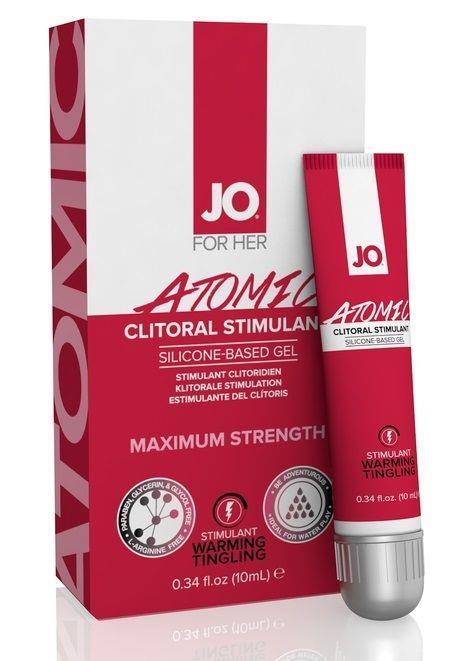 Возбуждающий гель для клитора мощного действия JO Clitoral Atomic (10 мл)