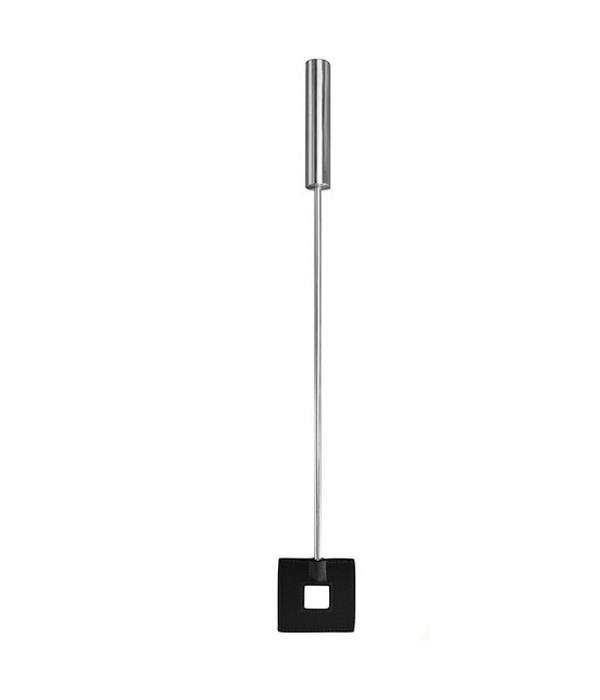 Шлёпалка Leather Square Tiped Crop с наконечником-квадратом