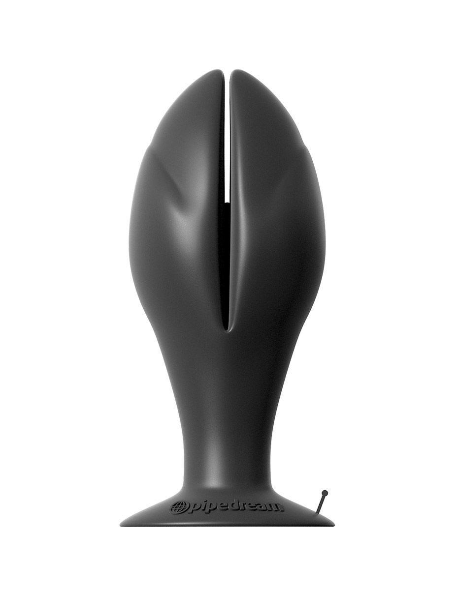 Большая раскрывающаяся анальная пробка Mega Insta-Gaper - 11,4 см.
