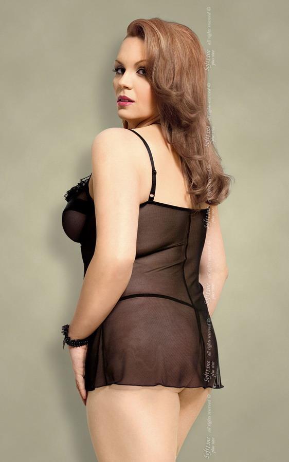 Сорочка Nadine с чашечками на косточках