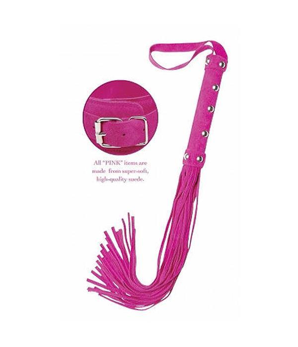 Многохвостая розовая плеть Pink Deluxe Whip