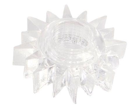 Прозрачное гелевое эрекционное кольцо-солнце