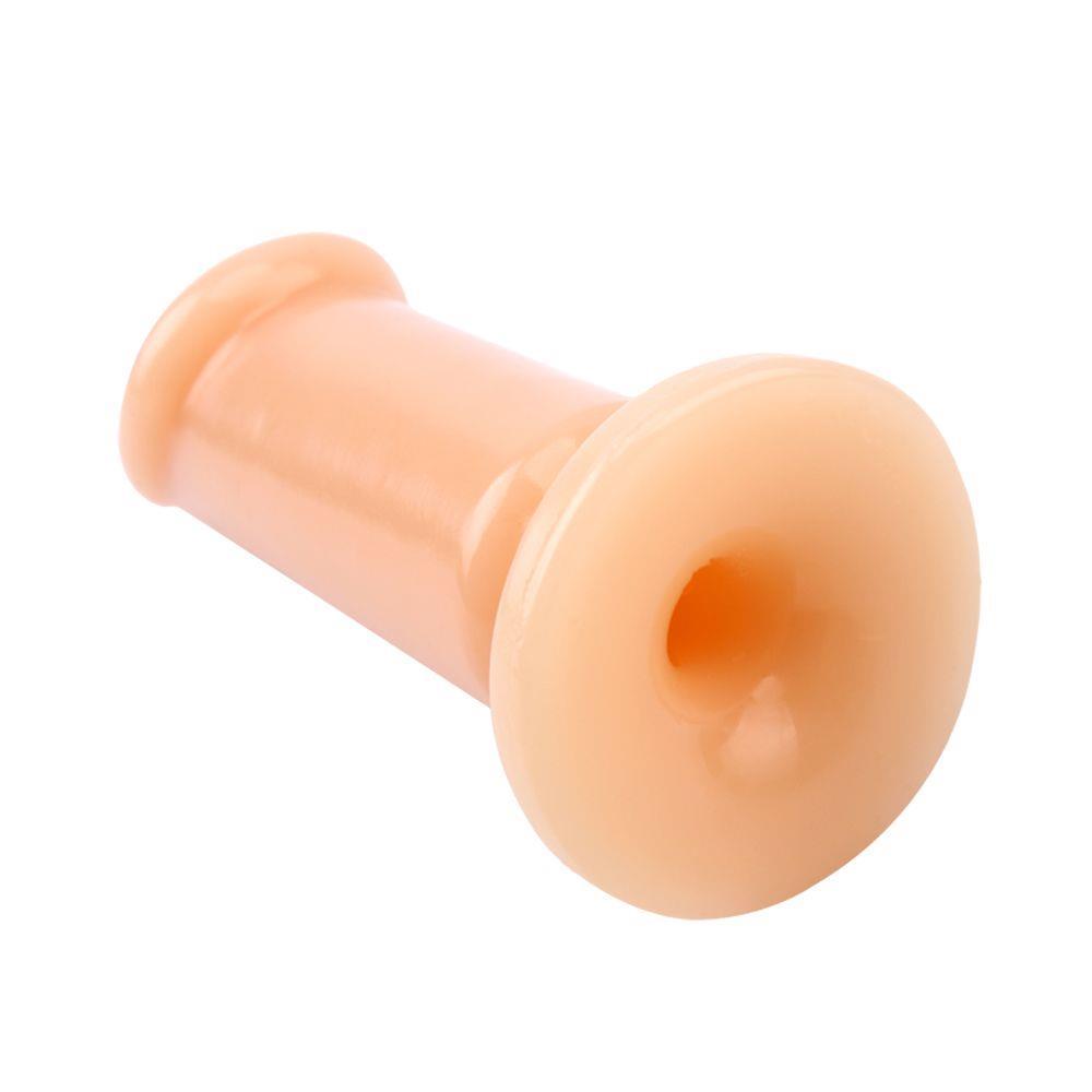 Телесный анальный плаг Medium Slim Dildo (12,5 см)