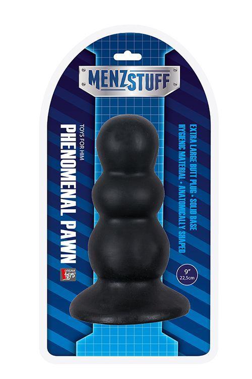 Гигантская анальная пробка MENZSTUFF PHENOMENAL PAWN - 22,5 см.
