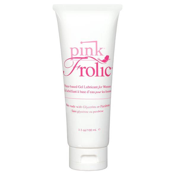 Женская смазка на водной основе Pink Frolic Lubricant - 100 мл.