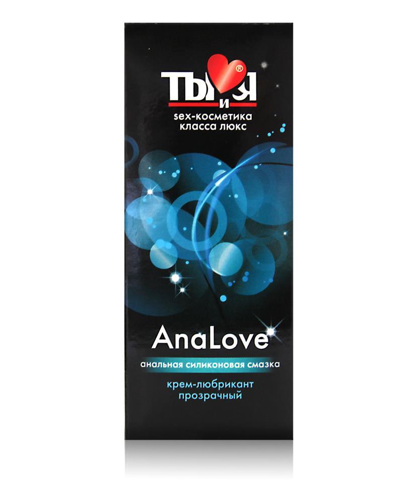 Анальный силиконовый лубрикант AnaLove (50 гр)