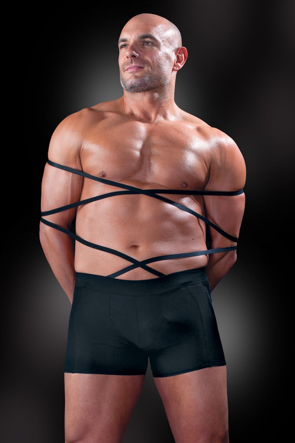 Боксеры с бондажными веревками Tie Me Up