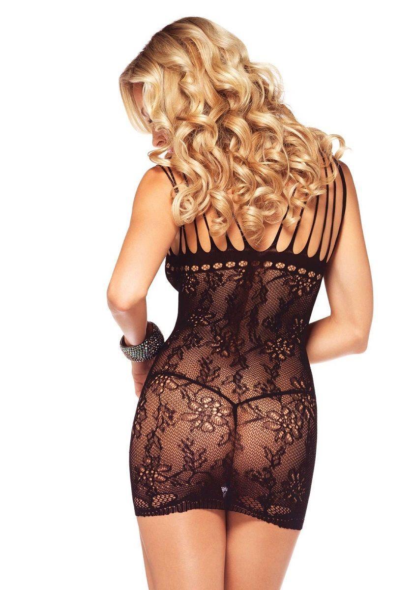 Роскошное ажурное мини-платье