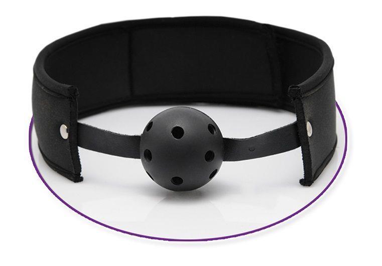 Дышащий кляп-шарик Ultra Breathable Ball Gag