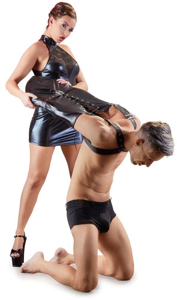 Фиксация на плечи и руки Imitation Leather Armbinder