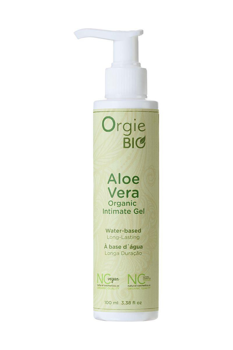 Органический интимный гель ORGIE Bio Aloe Vera с экстрактом алоэ вера (100 мл)