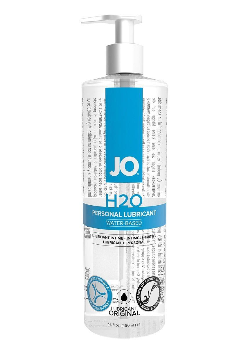 Лубрикант на водной основе JO Personal Lubricant H2O с дозатором (480 мл)