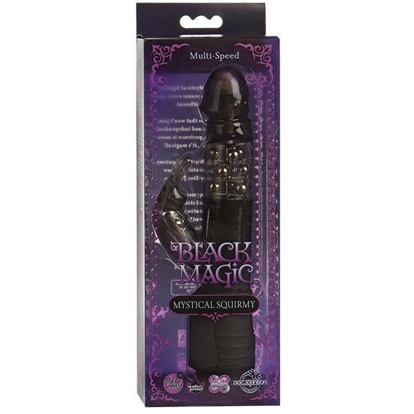 Вибромассажёр-ротатор «BLACK MAGIC» (16 см)
