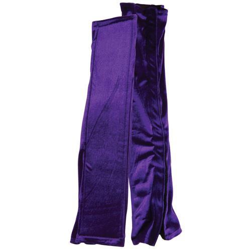 Бархатистые фиолетовые чехлы для секс-качелей LoveSwing Cover