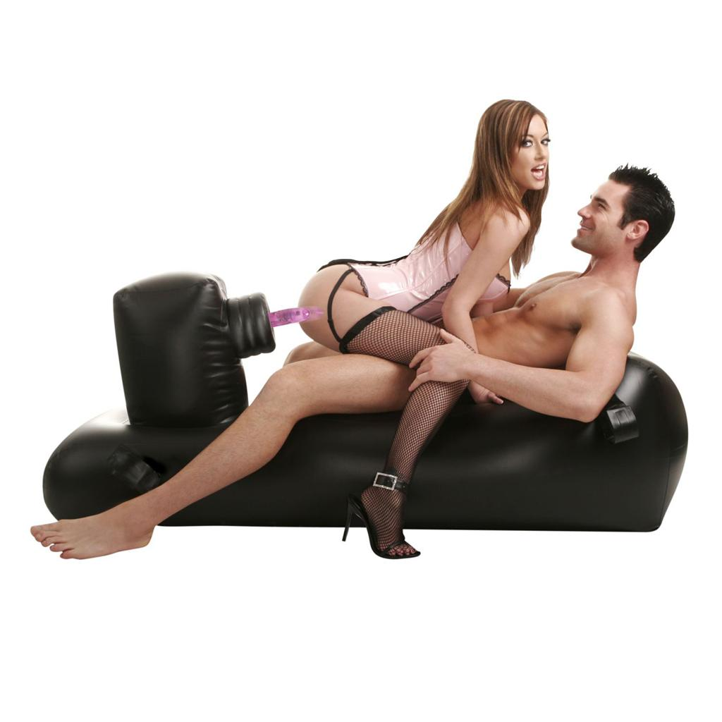 Секс-машина «Inflatable Love Lounger» с надувной кушеткой