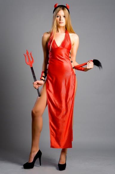 Сногсшибательный костюм дьяволицы Sexy Devil