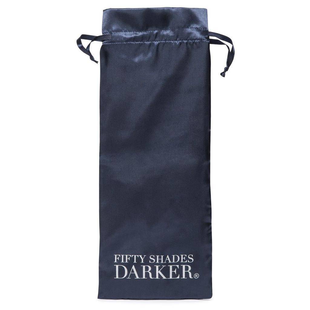 Тёмно-синяя анальная виброёлочка DARKER CARNAL PROMISE VIBRATING ANAL BEADS - 20,8 см.