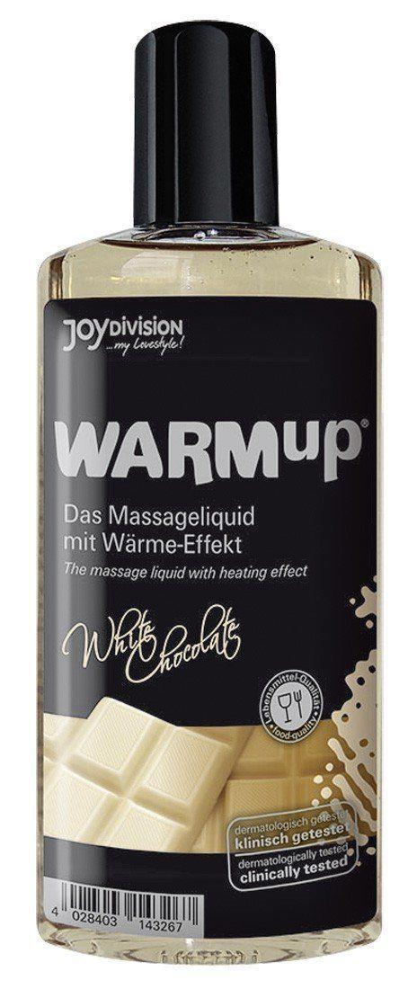 Разогревающее масло WARMup White chocolate - 150 мл.