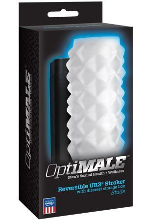 Прозрачный мастурбатор OPTIMALE Reversible Stroker Studs