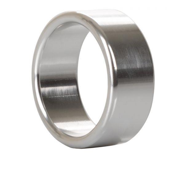 Серебристое эрекционное кольцо Alloy Metallic Ring Medium