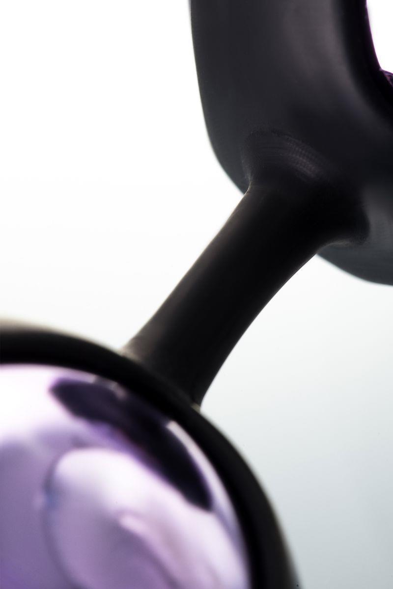 Фиолетово-черные тройные вагинальные шарики