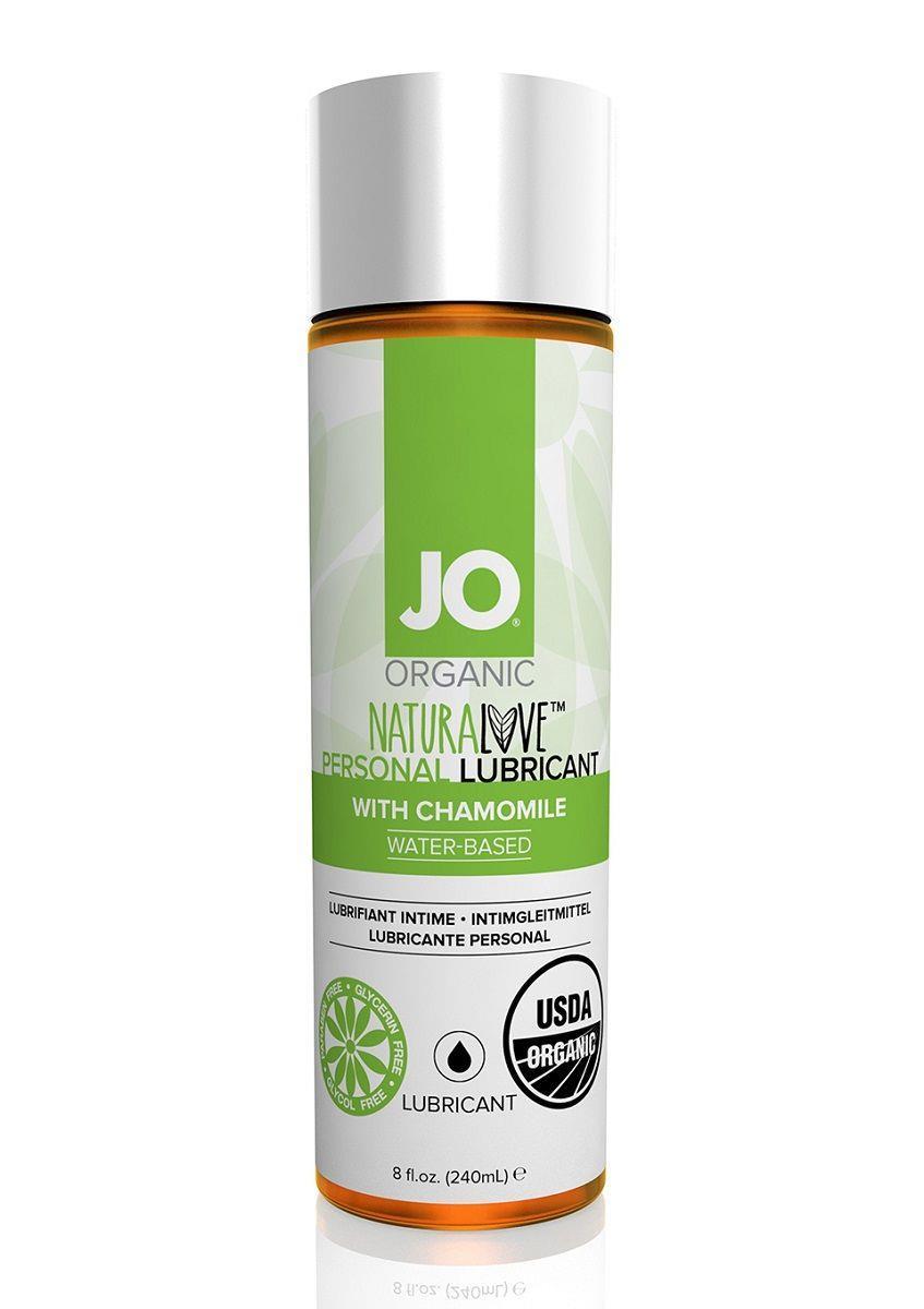 Лубрикант на водной основе с экстрактом ромашки JO® NATURALOVE PERSONAL LUBRICANT - 240 мл.