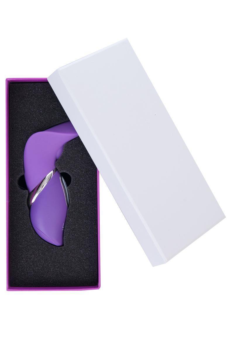 Фиолетовый вибратор Diana - 13,5 см.