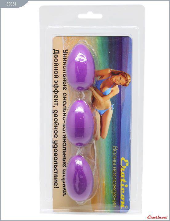 Фиолетовые анально-вагинальные шарики
