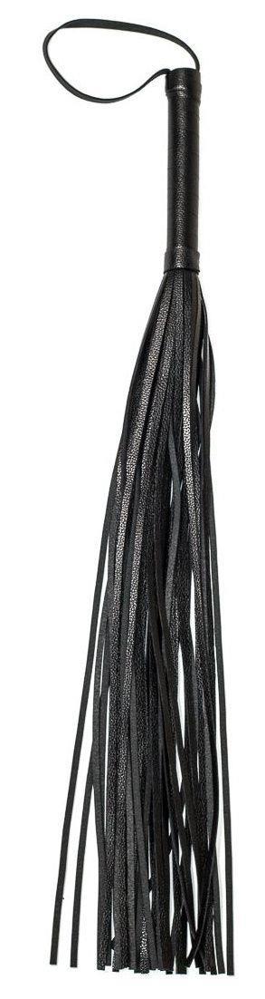 Черная плеть Party Hard Risque - 63,5 см.