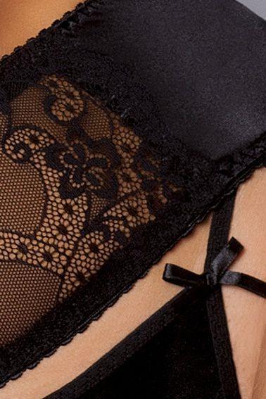 Чарующий комплект с открытой грудью Aurelia