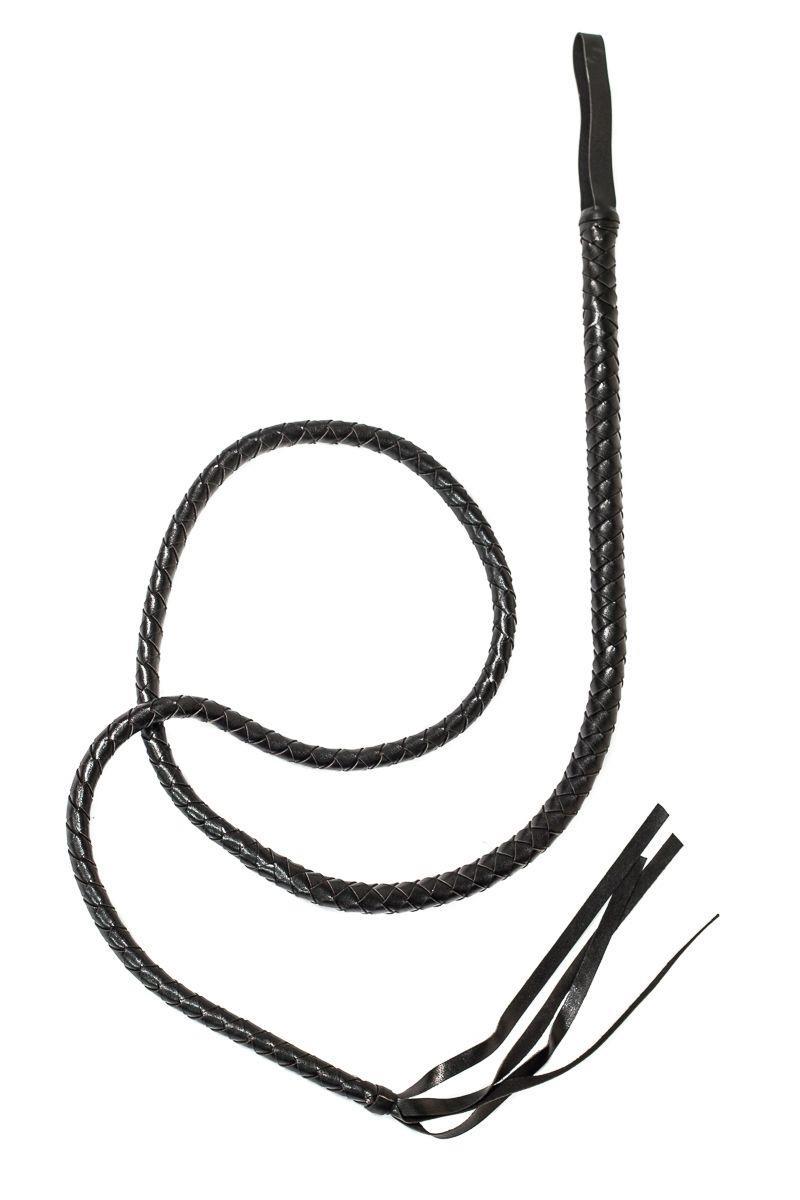 Черный кнут Prima - 193 см.