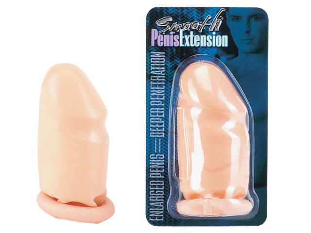 Удлиняющая насадка Smooth Penis Extension