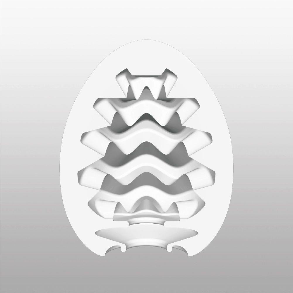 Мастурбатор-яйцо с охлаждающей смазкой Tenga - COOL EGG