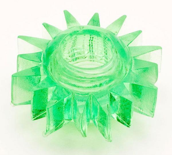 Зеленое эрекционное кольцо из гелия