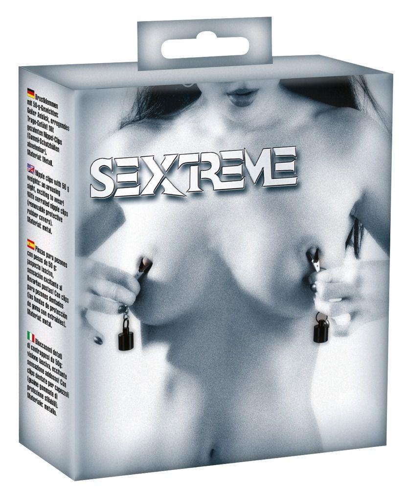 Зажимы для сосков Sextreme Nipple