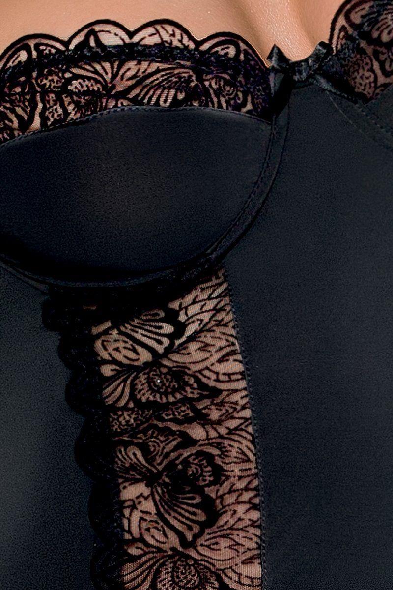 Облегающая сорочка Kalia с бабочками на кружеве